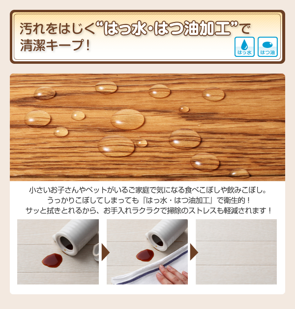 ラグマット・キッチンマットセット 185×30...の説明画像5