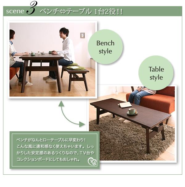 おすすめ!天然木北欧スタイル ソファーダイニングテーブルセット【Milka】ミルカ画像06