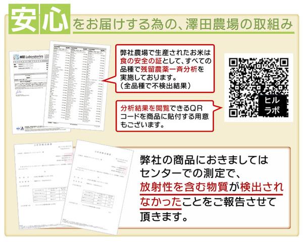【平成28年産】 澤田農場の新潟県上越産コシヒ...の説明画像6