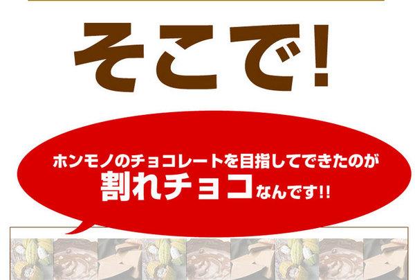 割れチョコ ミルク 800g 【クーベルチュー...の説明画像6