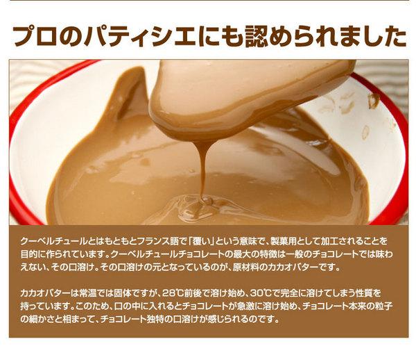 割れチョコ ミルク 800g 【クーベルチュー...の説明画像8