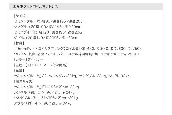 フロアベッド ワイドキングサイズ280cm【...の説明画像39