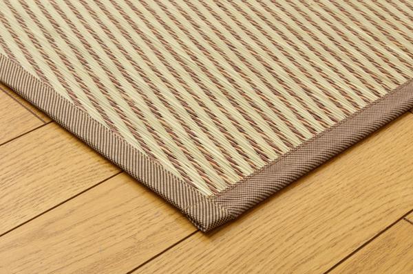 おすすめ!モダン 純国産/日本製 掛川織 い草カーペット『奥丹後』画像11