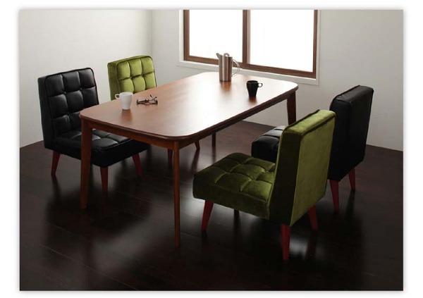 おすすめ!ウッド&レトロデザイン ソファーダイニングテーブルセット【DARNEY】ダーニー画像31