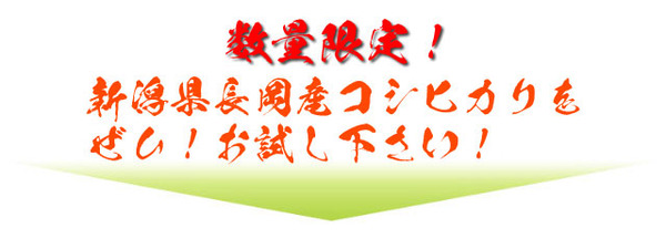 平成29年産 新潟県長岡産コシヒカリ(未検査米...の説明画像8