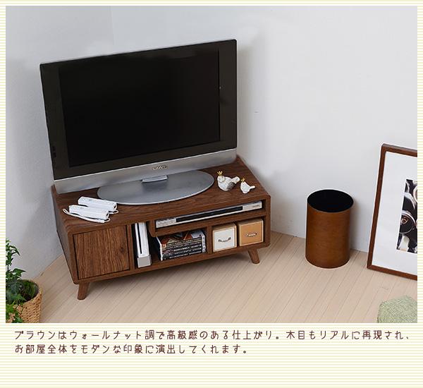 デザイン家具調 テレビ台/テレビボード 【ナチ...の説明画像3