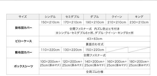【布団別売】掛け布団カバー クイーン ロイヤ...の説明画像23
