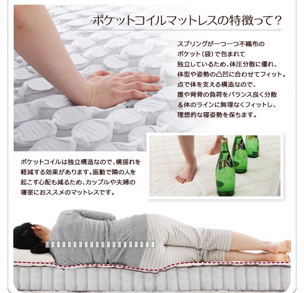 収納ベッド セミシングル【La・Tante】...の説明画像19