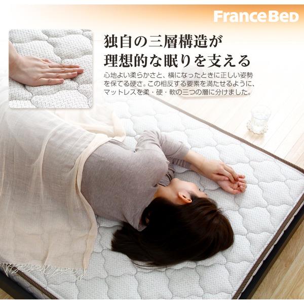 フランスベッド製【マルチラススーパースプリングマットレス】日本製