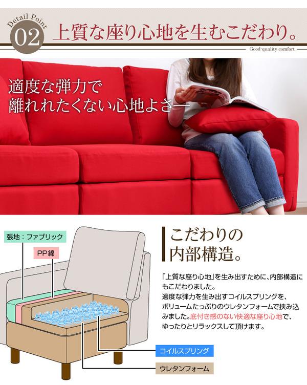 上質な座り心地を生むこだわりの内部構造
