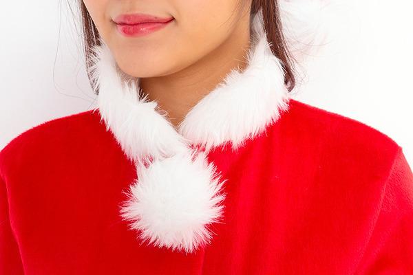 サンタ コスプレ レディース 【Peach×Peach  プリティサンタクロース ジャケット&スカート】 サンタ 衣装
