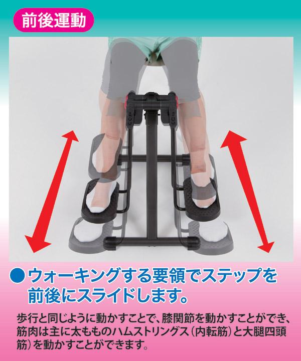折りたたみフィットネスマシン/アクティブライダ...の説明画像3
