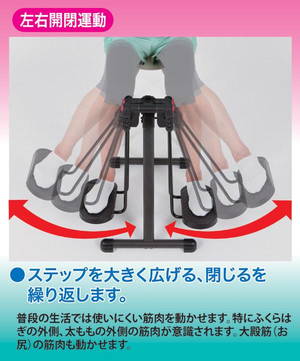 折りたたみフィットネスマシン/アクティブライダ...の説明画像4