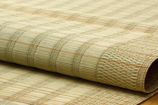 純国産 い草のシーツ(寝ござ) 『清風』 ブルー シングル約88×180cm