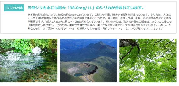 霧島湧水 天然シリカ水 500ml×48本(...の説明画像10