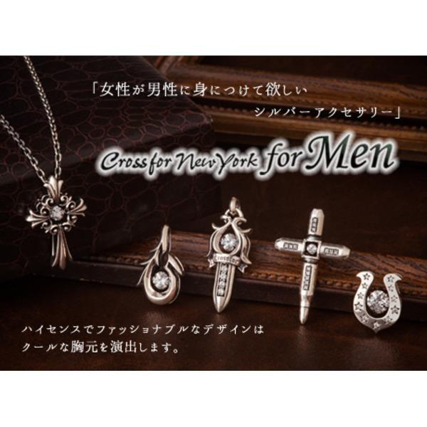 クロスフォーニューヨーク for Men Dancing Stoneシリーズ(ダンシングストーン) Sabel ペンダント NMP-004