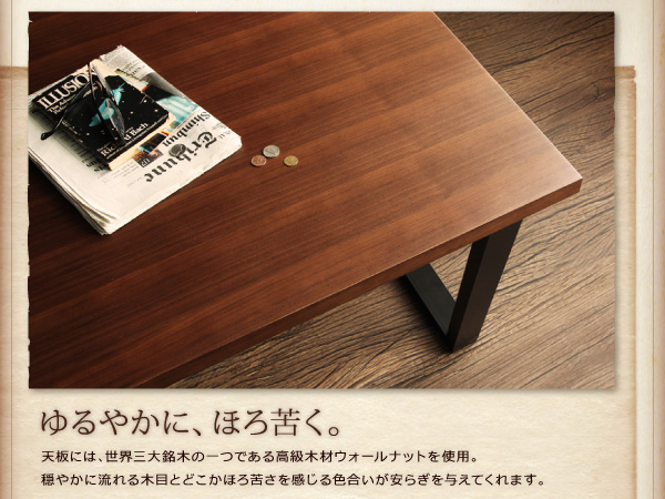 おすすめ!ヴィンテージスタイルデザイン ソファーダイニングテーブルセット【CISCO】シスコ画像10