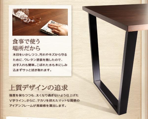 おすすめ!ヴィンテージスタイルデザイン ソファーダイニングテーブルセット【CISCO】シスコ画像11