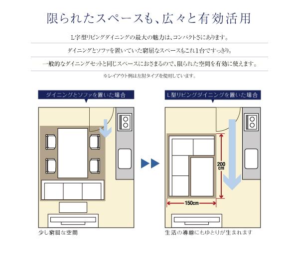 おすすめ!モダン・リビングソファダイニングセット【Cifra】チフラ画像05