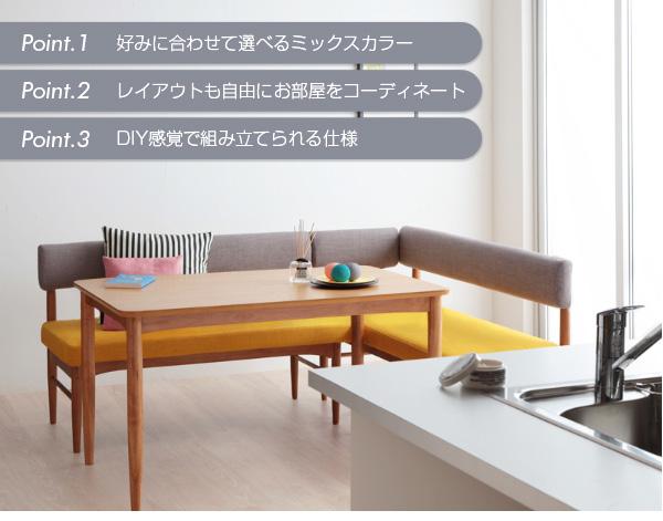 【本体別売】ソファーカバー アームソファ(背部...の説明画像2