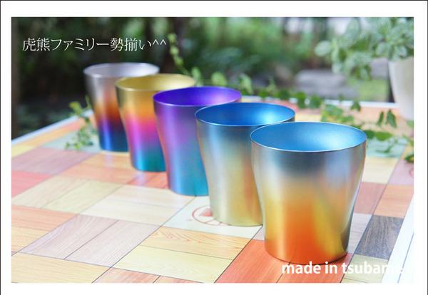 新潟県燕産 HORIE製 チタン製 二重タンブ...の説明画像1