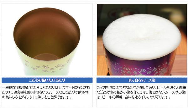 新潟県燕産 HORIE製 チタン製 二重タンブ...の説明画像7