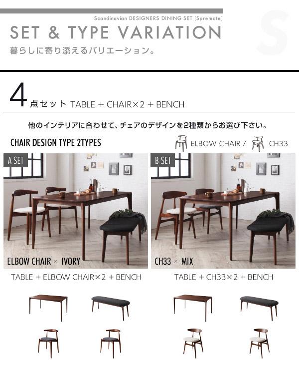 【テーブルなし】チェアA(エルボー×2脚組)...の説明画像16
