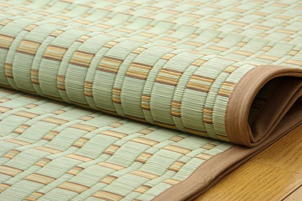 おすすめ!モダンデザイン 掛川織 い草カーペット『雲仙』画像09