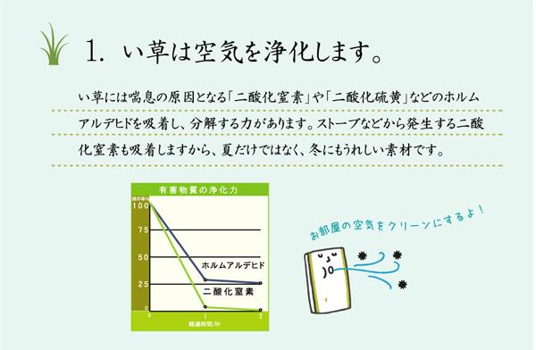 おすすめ!モダンデザイン 掛川織 い草カーペット『雲仙』画像17