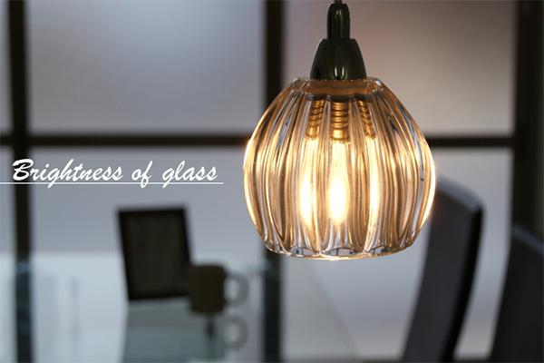 ペンダントライト(吊り下げ型照明器具) ガラス...の説明画像1