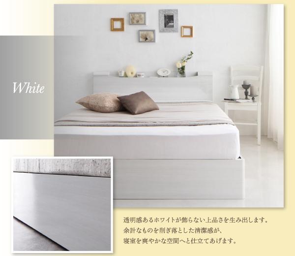 収納ベッド セミダブル【Champanhe】【...の説明画像4