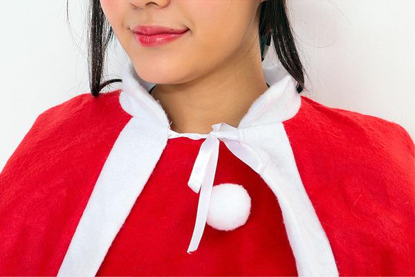 【クリスマスコスプレ 衣装 まとめ買い3着セット】P×P レディースサンタクロース サンタコスプレ女性用 ワンピース&肩がけ