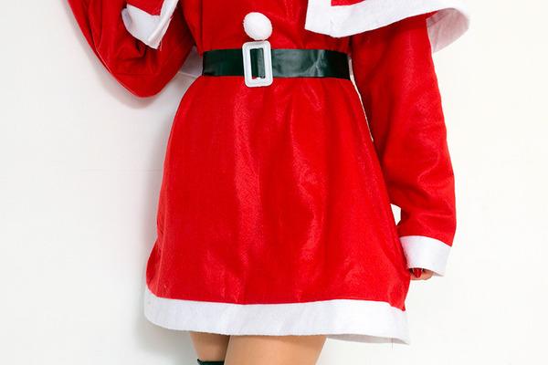 【クリスマスコスプレ 衣装 まとめ買い5着セット】P×P レディースサンタクロース サンタコスプレ女性用 ワンピース&肩がけ
