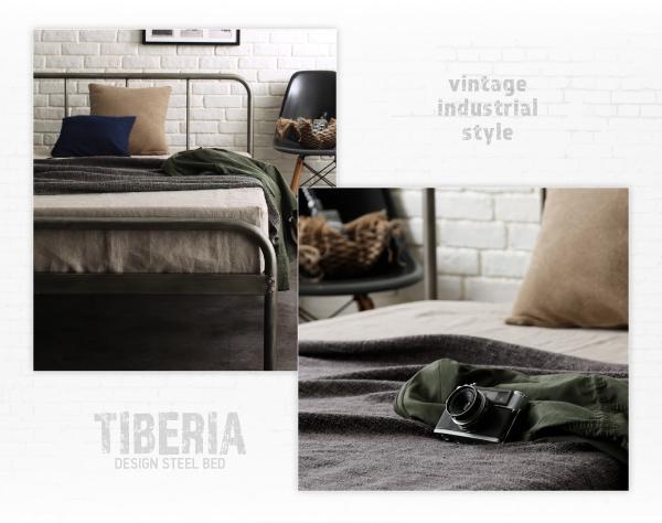 ベッド シングル フッドロー【Tiberia...の説明画像12