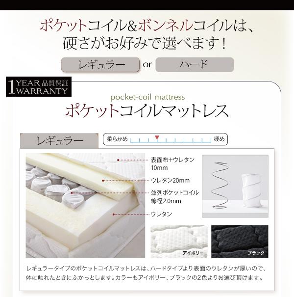 ベッド シングル フッドロー【Tiberia...の説明画像18