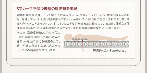 ベッド シングル フッドロー【Tiberia...の説明画像26