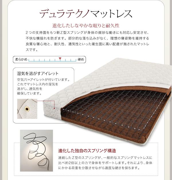 ベッド シングル フッドロー【Tiberia...の説明画像27