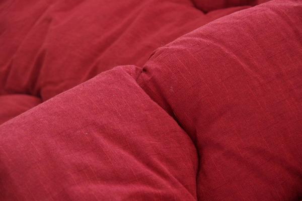 こたつ布団 こたつ掛け布団 丸型 単品 先染め 『ブロートAZ-09』 ブラウン 約225cm丸(厚掛けタイプ)