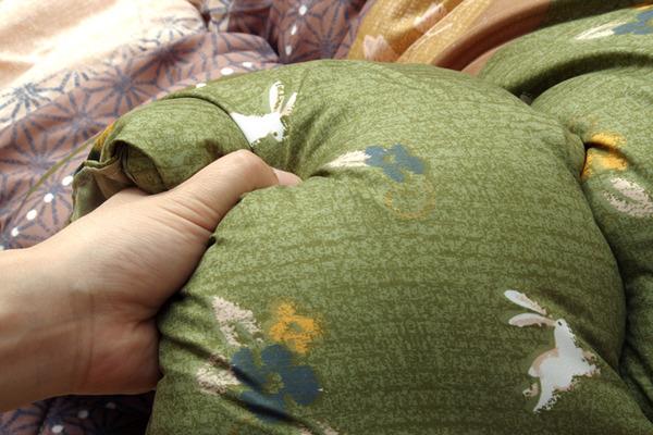 和柄 こたつ布団 長方形大 掛け単品 『こよみ』 グリーン 約205×285cm