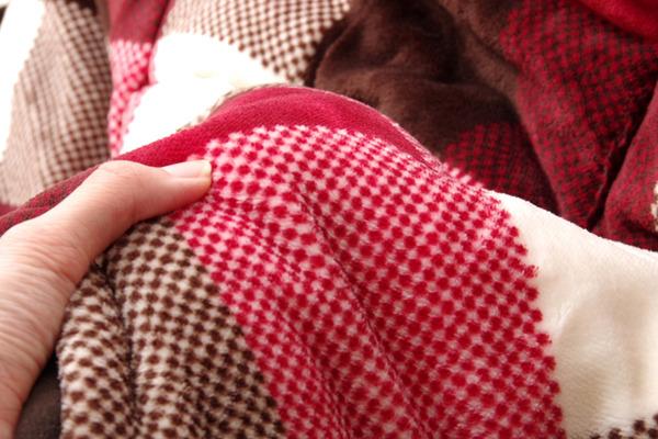 洗える 省スペースこたつ薄掛け布団 こたつ布団 単品 『ジャーナル省S』 グリーン 約180×220cm