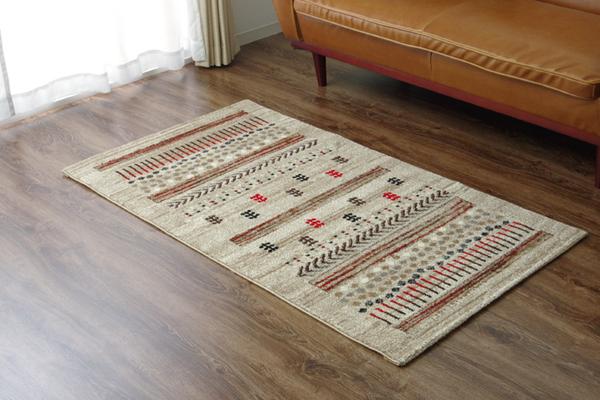 おすすめ!おしゃれなラグマット トルコ製 ウィルトン織り カーペット 絨毯『マリア RUG』ベージュ画像12