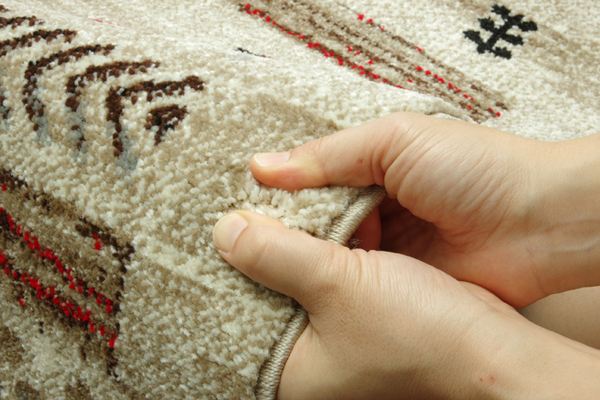 おすすめ!おしゃれなラグマット トルコ製抗菌防臭・消臭機能付ウィルトン織カーペット グラデーションマルチ画像14
