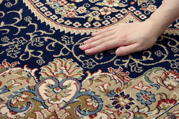 おすすめ!おしゃれなラグマット トルコ製 ウィルトン織り カーペット 絨毯 ホットカーペット対応 『ベルミラ RUG』画像09