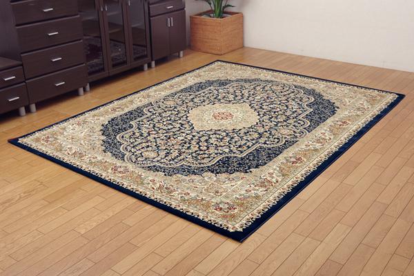 おすすめ!おしゃれなラグマット トルコ製 ウィルトン織り カーペット 絨毯 ホットカーペット対応 『ベルミラ RUG』画像11