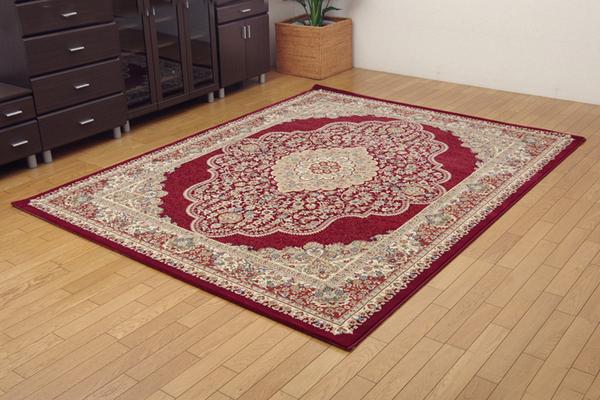 おすすめ!おしゃれなラグマット トルコ製 ウィルトン織り カーペット 絨毯 ホットカーペット対応 『ベルミラ RUG』画像17