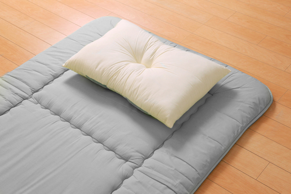 枕 ピロー 国産竹炭パイプ入り 『竹炭リバーシブル枕』 約43×63cm リバーシブルタイプ