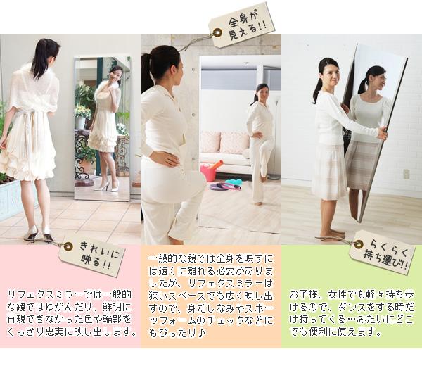 プロ仕様!割れない鏡 【REFEX】リフェクス...の説明画像9