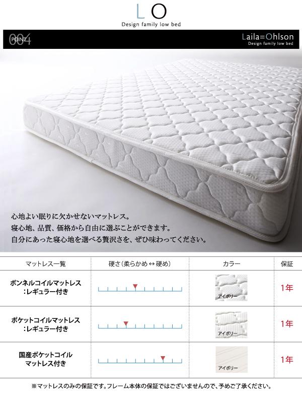 ベッド ワイドキングサイズ240(セミダブル...の説明画像11