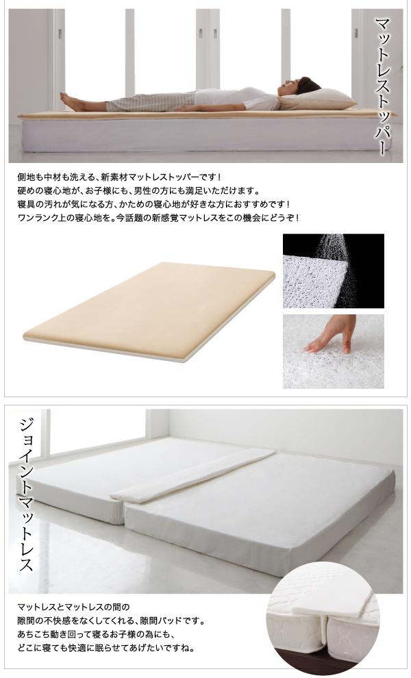 ベッド ワイドキングサイズ240(セミダブル...の説明画像22