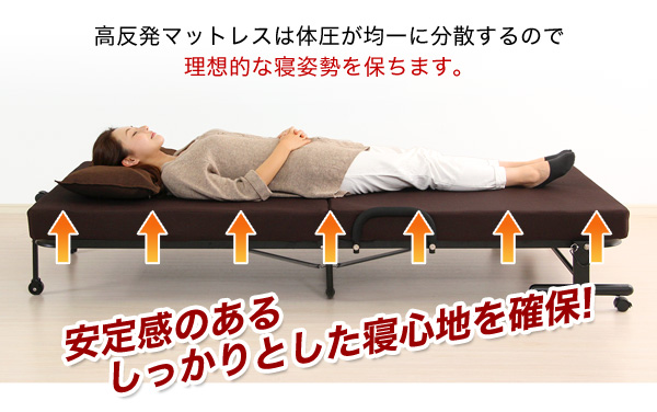 リクライニングベッド 高反発